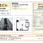 富山市中野新町2-2-26 富山市電沿いなので、アクセス便利ですよ。