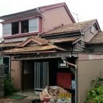 老朽化した住宅の危険