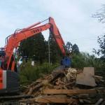 土蔵の解体と不用品処分