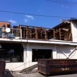 富山市内にて木造S造住宅兼事務所の解体工事を行いました