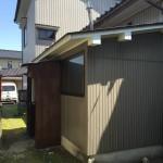 木造住宅の一部を解体しました!