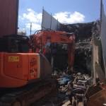 富山市中心部で木造とRC造の住宅の解体を請け負いました