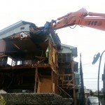 空き家の木造住宅解体工事