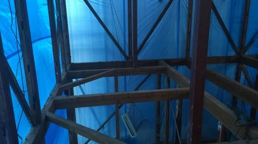 044 - 住宅のスケルトン解体終了後