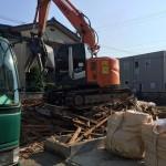 木造住宅の解体なら経験豊富なエイキへお任せください!!