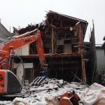 富山市の2階建て木造解体工事『保育園が近くにある現場』