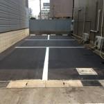 富山市で解体工事後のアスファルト舗装(駐車場)を施行いたしました