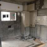 RC造(鉄筋コンクリート造)の内装スケルトン解体工事を施行させていただきました