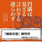 『解体文芸』 創刊号 ~川柳を楽しみませんか?~