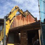 金沢にて木造家屋を解体しました。工事における配慮について~