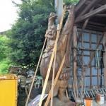 カーポートの撤去と木造住宅の解体を行いました!