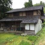 山中にある木造住宅の解体を行いました!