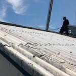 スレート屋根の撤去工事をおこないました!